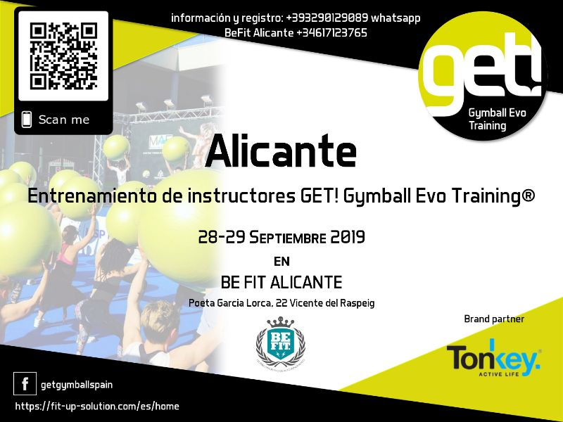 Formación-de-instructores-GET!-Gymball-Evo-Training®